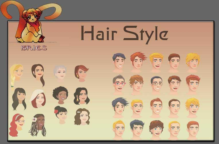 Aries Hairstyles Zodiac Aries Sign